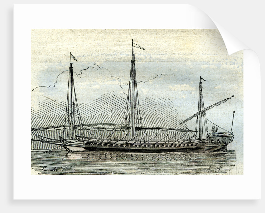 Barque Longue 17th Century UK by Anonymous