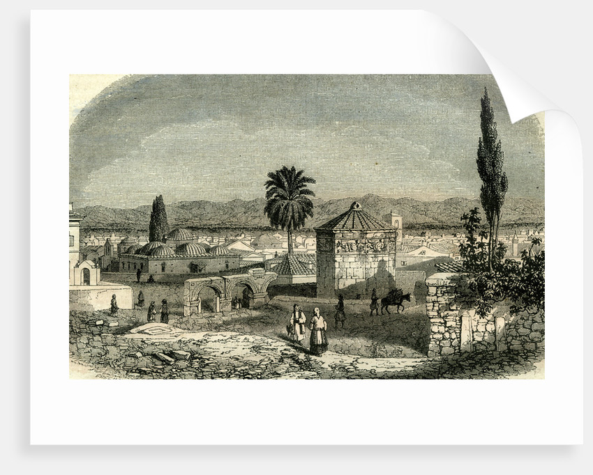 Athens Greece 1851 by Anonymous