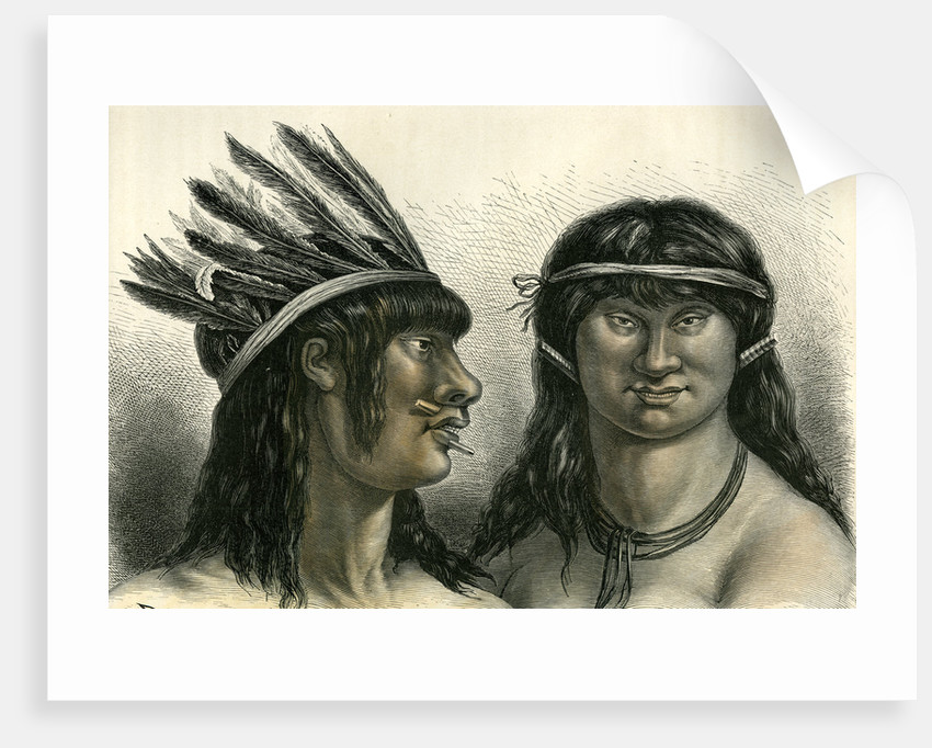 Indians 1869 Peru by Anonymous