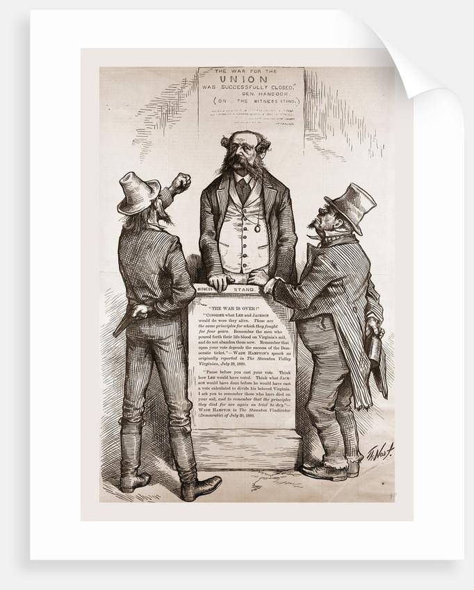Wade Hampton's Dilemma, 1880 by Anonymous