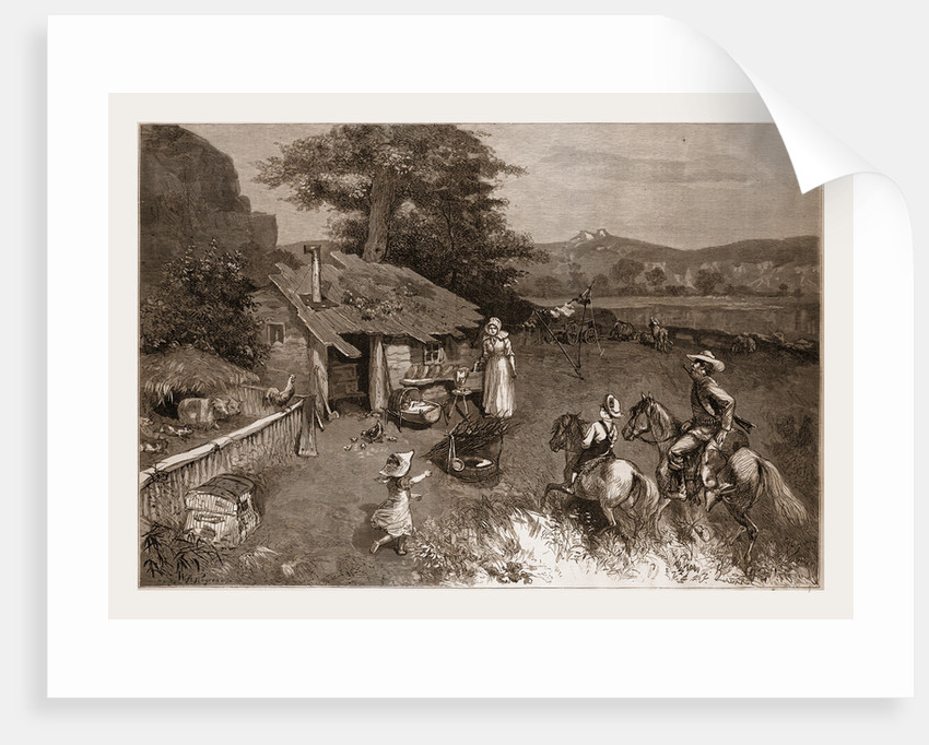 The Settler's First Home in the Far West by W. A. Rogers