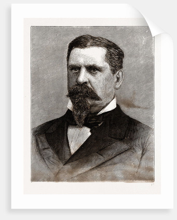 General W. B. Hazen, the New Chief Signal Officer, 1880 by Anonymous