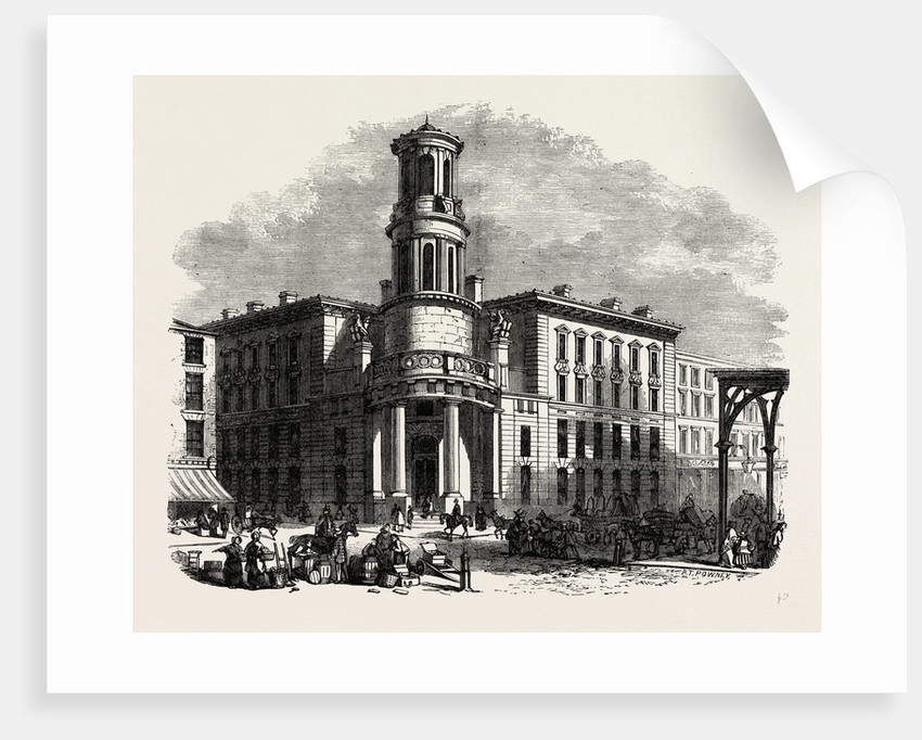 The Present Coal Exchange by Anonymous