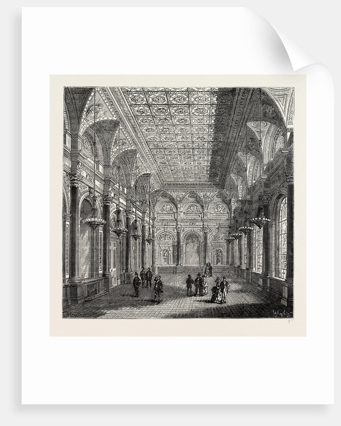 Interior of Clothworkers' Hall by Anonymous