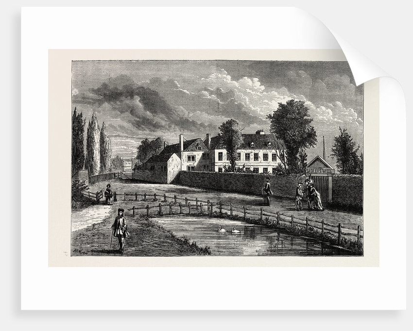 Sadler's Wells in 1756 by Anonymous