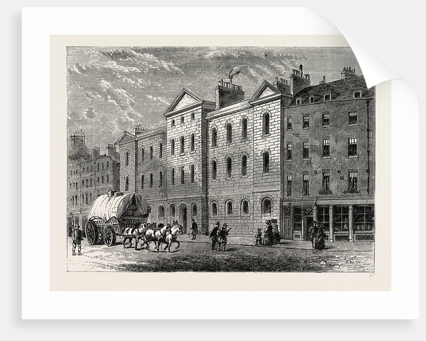 Giltspur Street Compter, 1840 by Anonymous