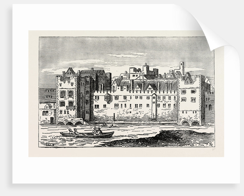 The Savoy in 1650 by Anonymous