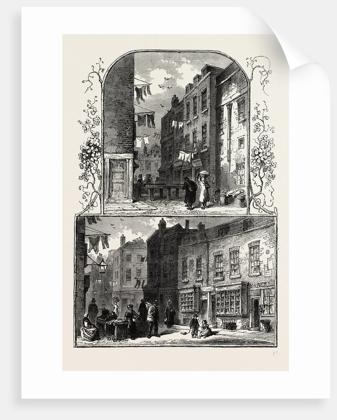 Views in the Rookery, St. Giles's by Anonymous