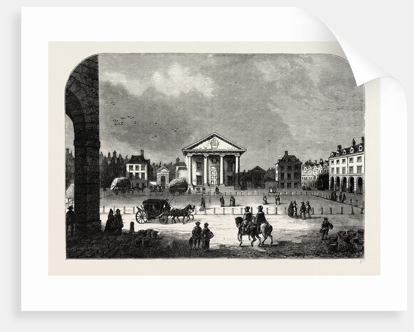 Covent Garden in 1660 by Anonymous