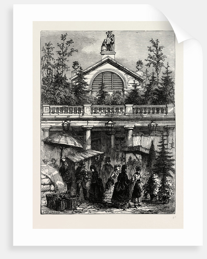 Entrance to Covent Garden Market by Anonymous