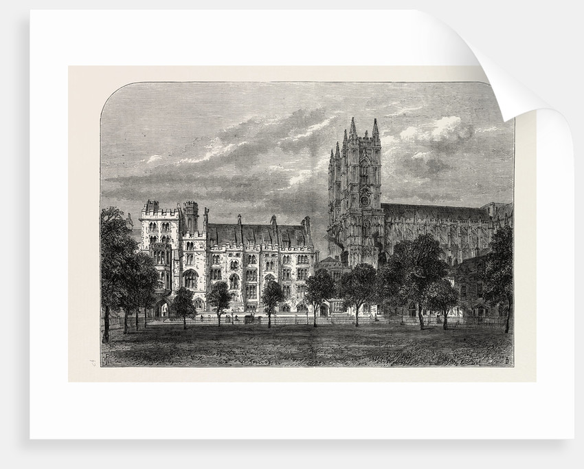 Dean's Yar, Westminster School by Anonymous