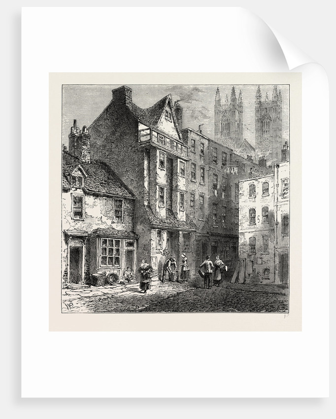 Caxton's House, Westminster, 1827 by Anonymous