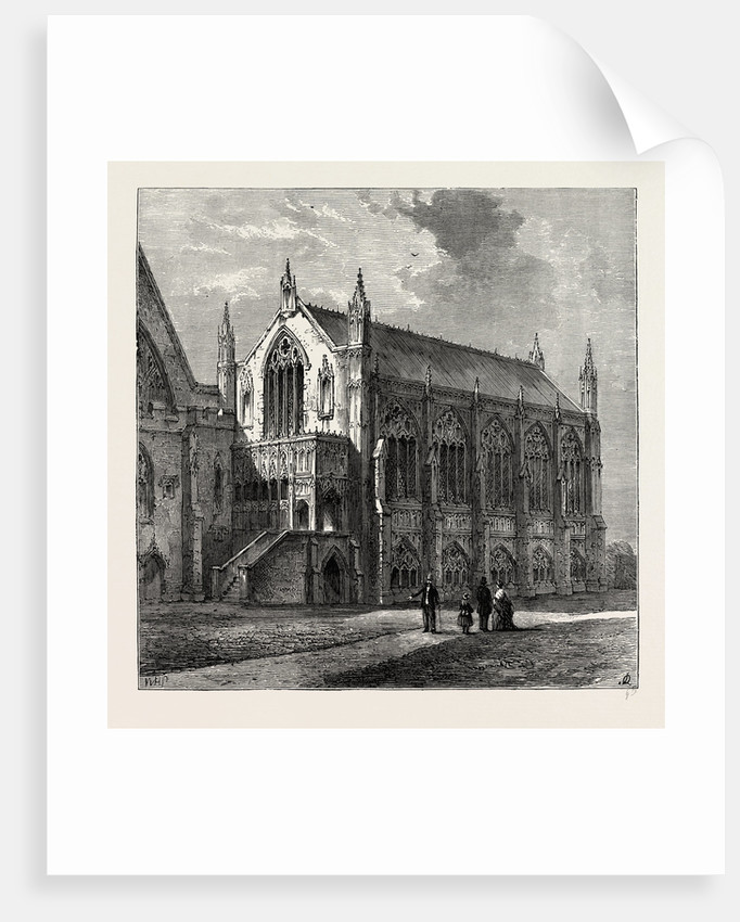 St. Stephen's Chapel, 1830, Westminster by Anonymous