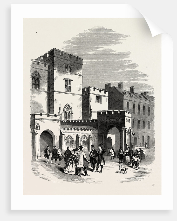 Entrance to the House of Lords, Westminster by Anonymous