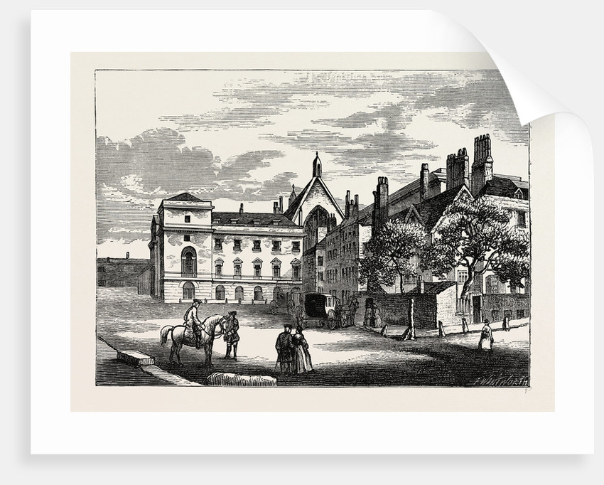 Old Palace Yard in 1796 by Anonymous