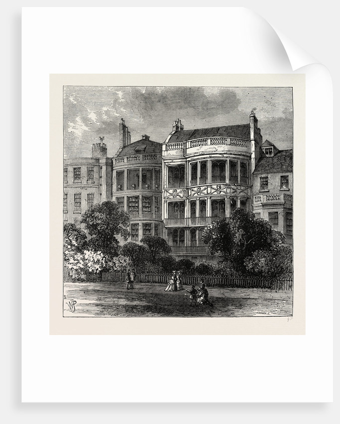 Samuel Rogers' House, Green Park Front by Anonymous