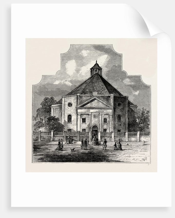 Whitefield's Tabernacle, 1820 by Anonymous