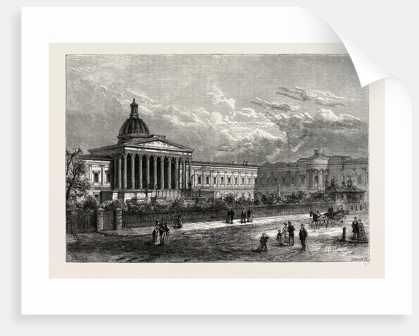 University College, Gower Street by Anonymous