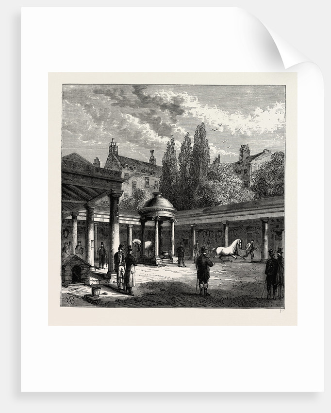 Interior of the Court-yard of Old tattersall's by Anonymous