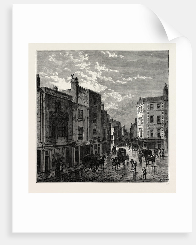 Kensington High Street, in 1860 by Anonymous