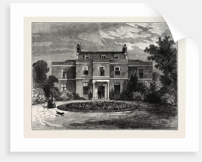 Earl's Court House by Anonymous
