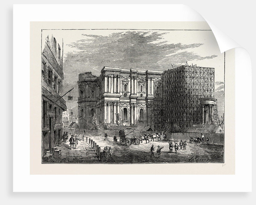The Rebuilding of St. Paul's by Anonymous