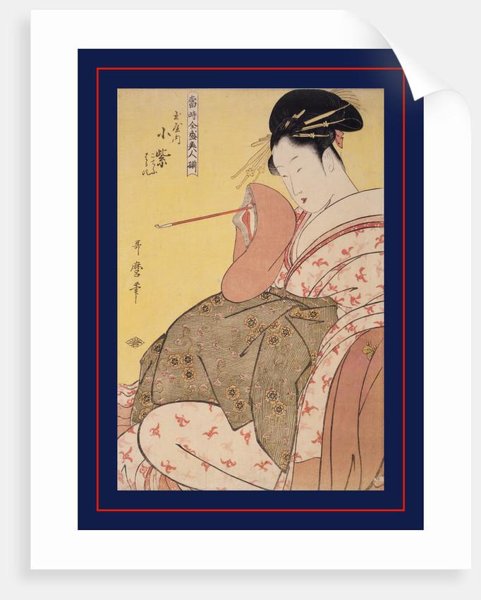 Array of supreme beauties of the present day by Utamaro Kitagawa