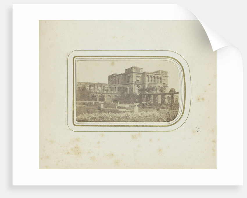 Exterior of Villa Berg (King's Residence) in Stuttgart, Germany by Anonymous