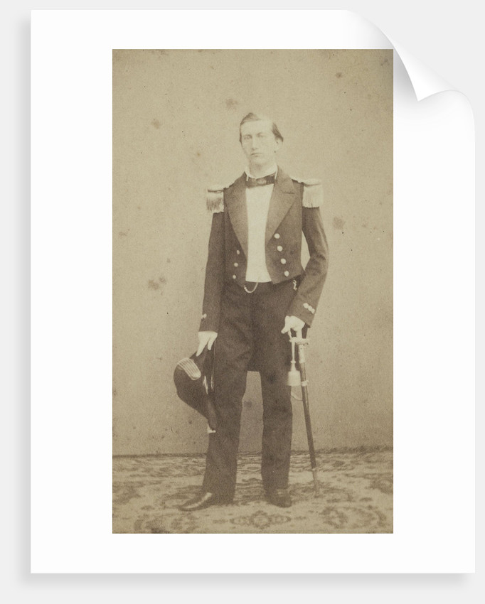 Portrait of a man in uniform by Anonymous
