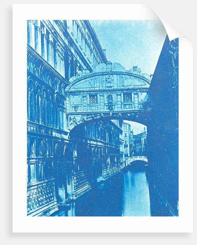 Bridge of Sighs, Ponte dei Sospiri, Venetia, Italy by Anonymous