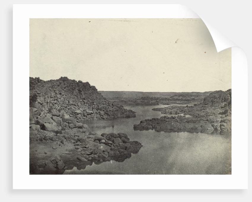 First Cataract at Aswan, Egypt, Egypt, Maxime Du Camp, Louis-Désiré Blanquart-Evrard by Gide et J. Baudry