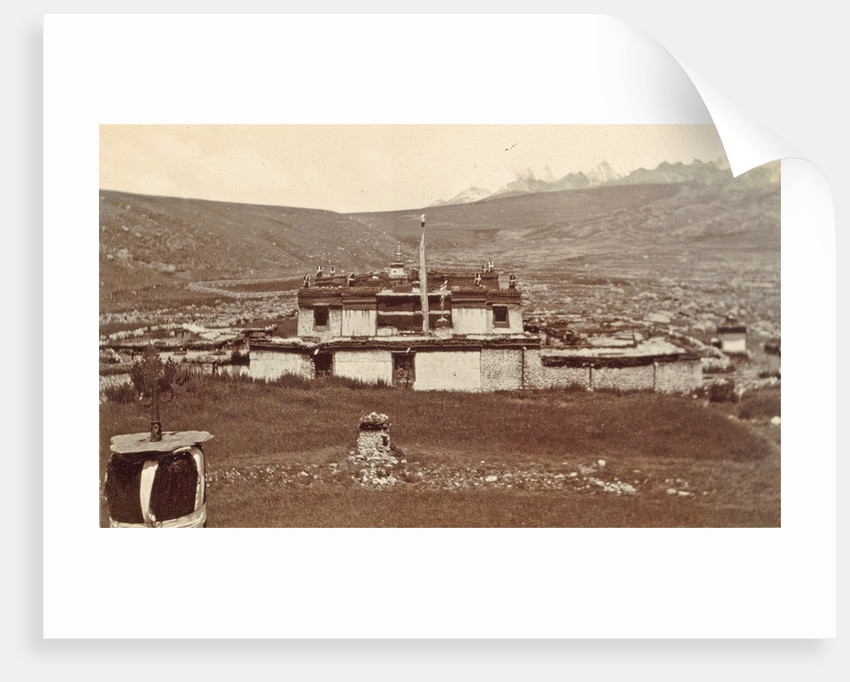 Exterior of a second British telegraph station in Juna at 427 meters by D.T. Dalton