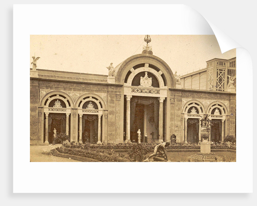 Italian pavilion at the World Exhibition in Paris, France in 1889 by Anonymous