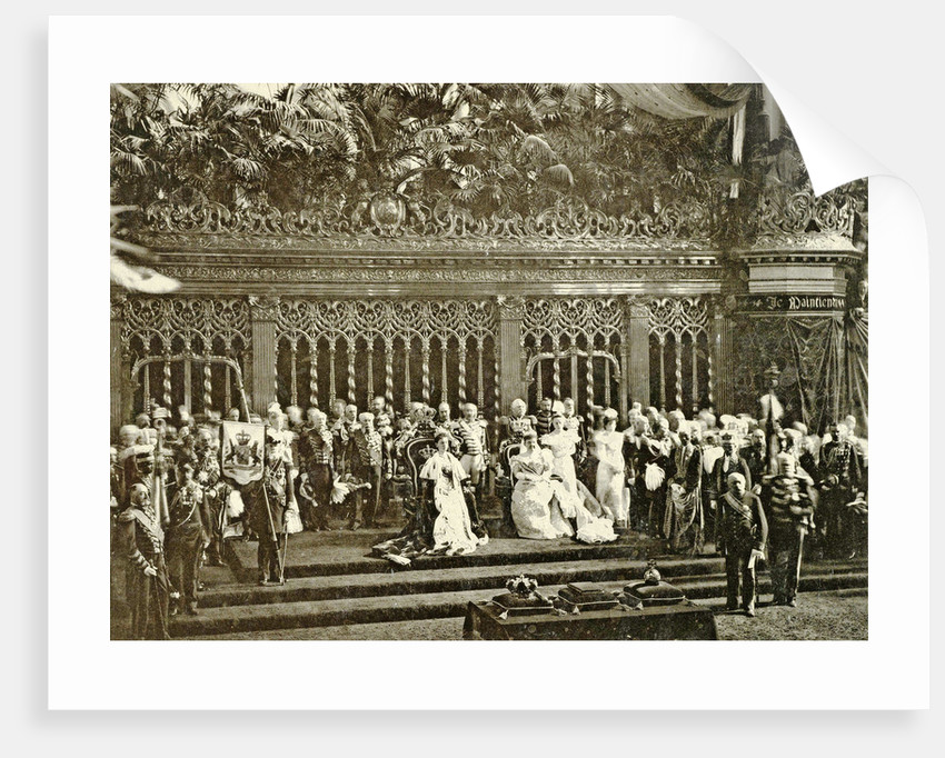 Inauguration of Queen Wilhelmina in the Nieuwe Kerk, Amsterdam, The Netherlands, Barend Groote & Co by Guy de Coral & Co.