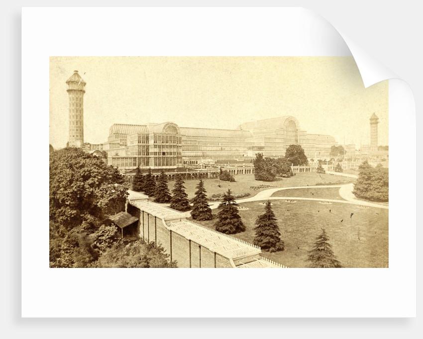 Crystal Palace at Sydenham UK by F.G.O. Stuart