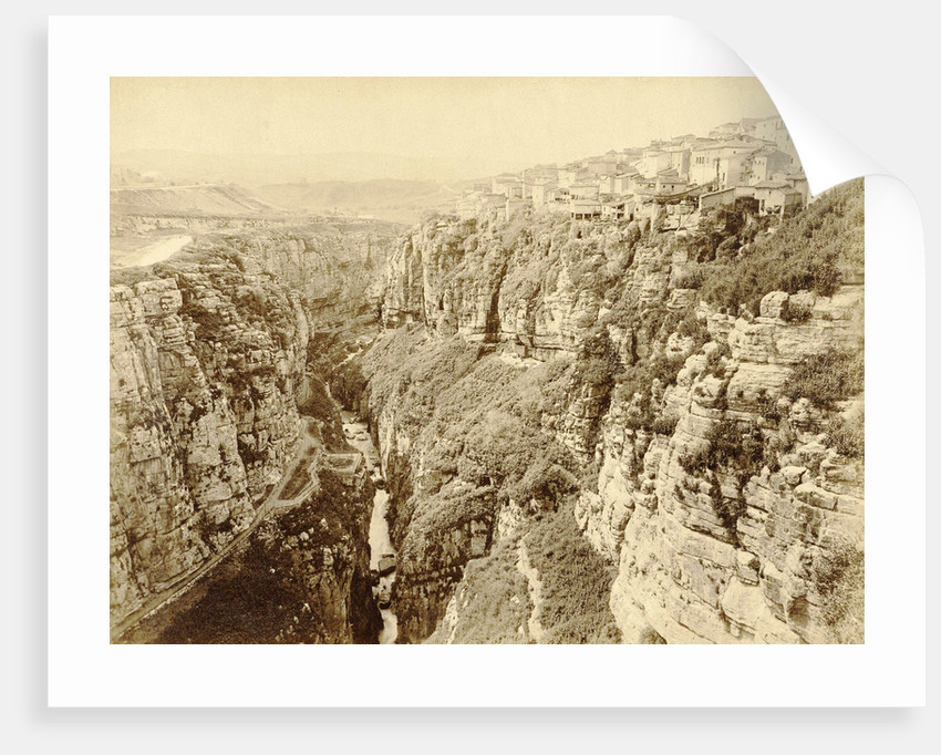 Gorge in Algeria by Étienne Neurdein