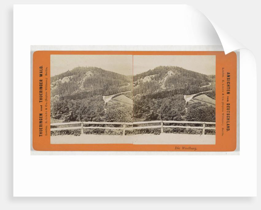 Die Wartburg, Germany by Sophus Williams & E. Linde & Co