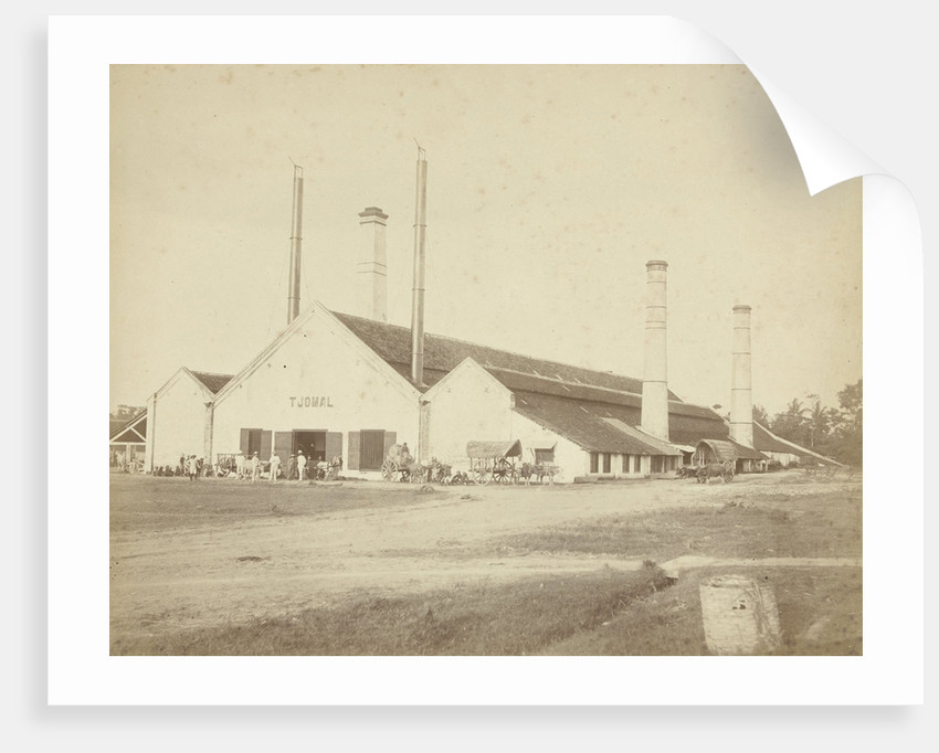 Factory Building of sugar Tjomal Java, Indonesia by Anonymous