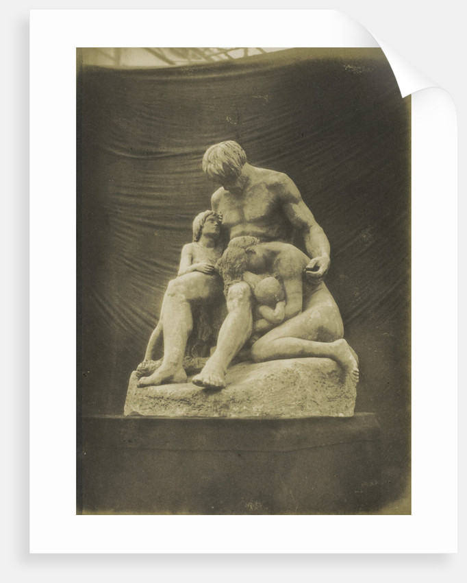Cain and his Family. (Plaster) Etex by Anonymous