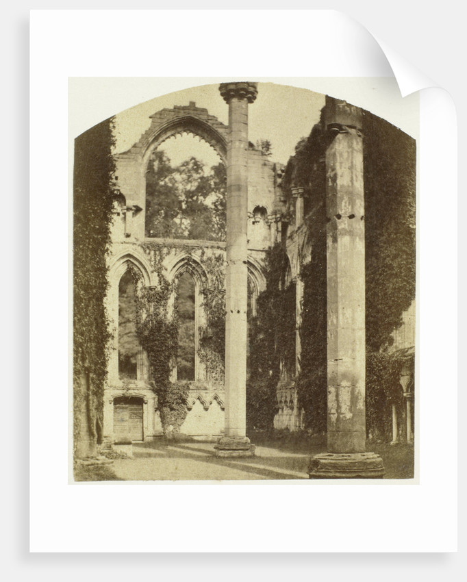 Fountains Abbey; Lady Chapel by William Russell Sedgfield