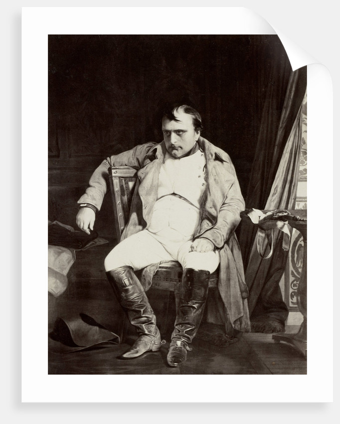 A Napoleon Fontainebleau by Paul Delaroche