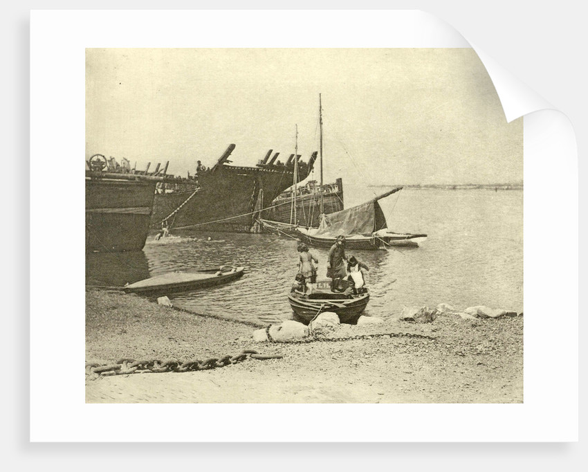 dismantled ships by Peter Henry Emerson