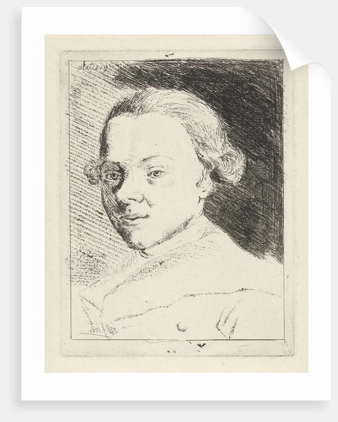 Self-portrait of Jabez Heenck by Jabes Heenck