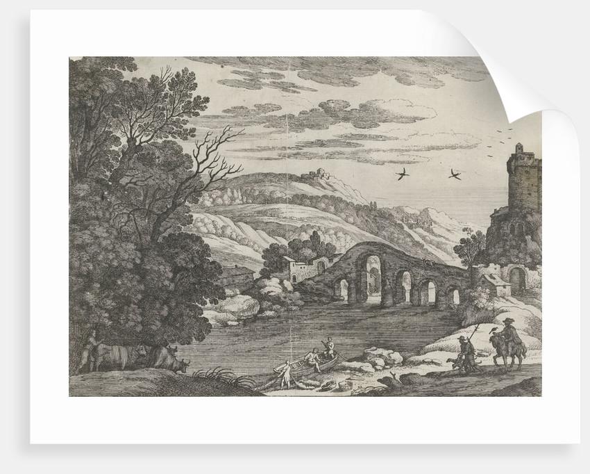 Landscape with a River by Antoine Bonenfant