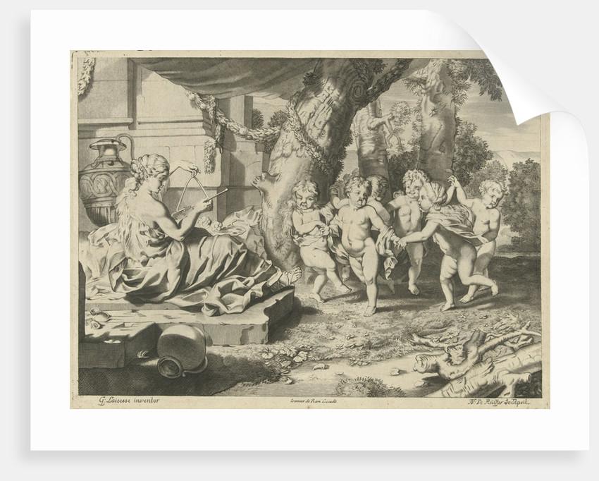 Allegory of Music, Nicaise de Ruyter by Johannes de Ram