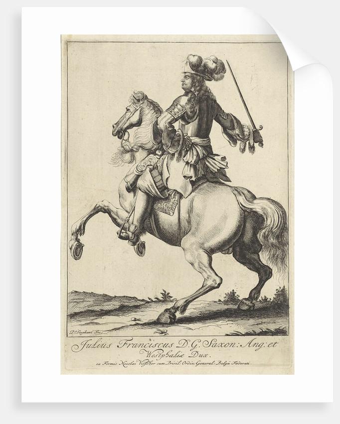 Equestrian Portrait of Julius Francis by Nicolaes Visscher II