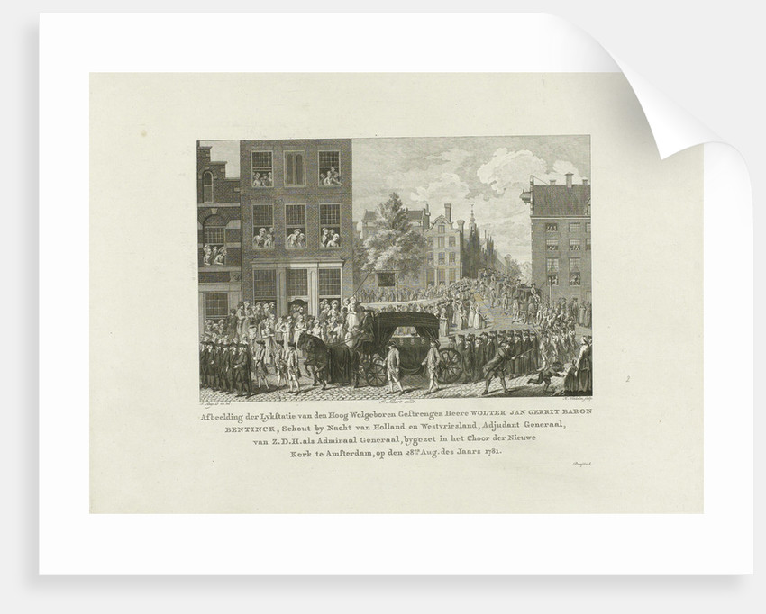 Wolter Jan Gerrit Baron Bentinck, 1781 by Johannes Allart