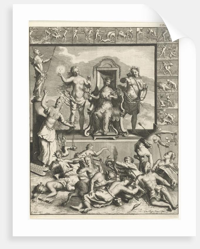 Twelve Labors of Hercules by Ottmar Elliger II