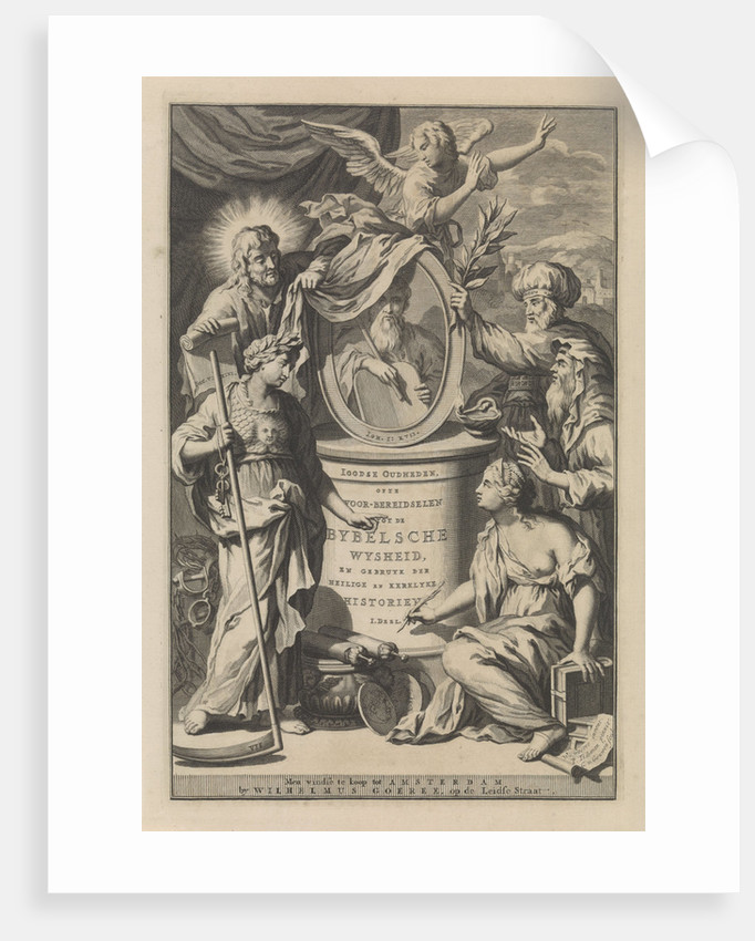 Bible Figures reveal the portrait of Moses by Wilhelmus Goeree I