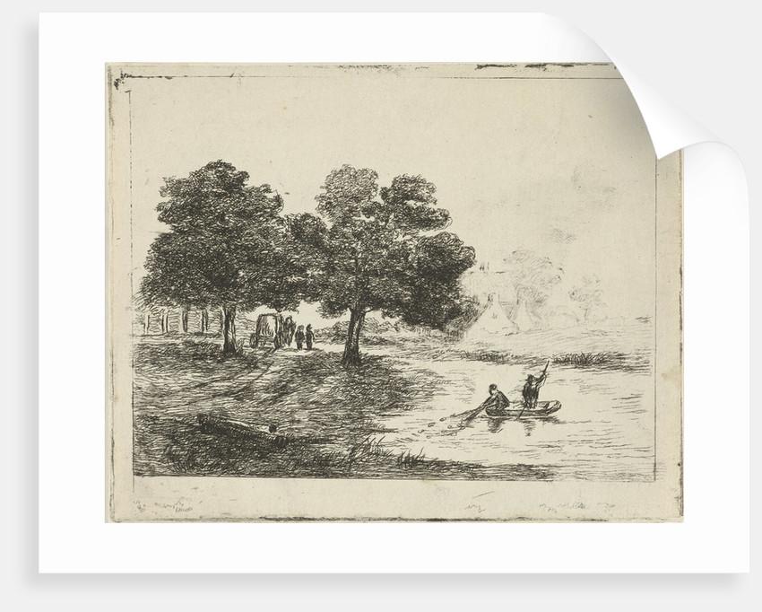 Landscape with Fishermen by David van der Kellen II